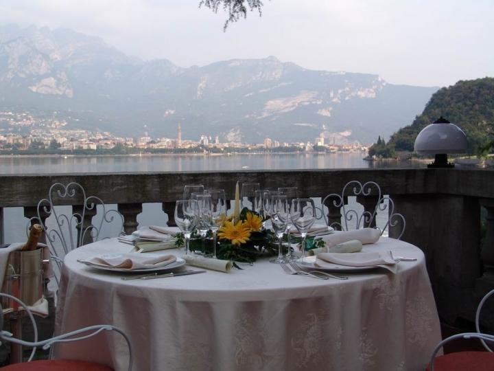 Capodanno Ristorante Al Terrazzo Villa Giulia Lago di Como Foto